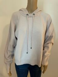 NORDSTROM SIGNATURE 100% cashmere hooded sweater $45.00