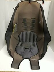 Evenflo Tribute 2017 Booster Gray Black Car Seat Fabric Cover Cushion. $9.00