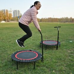 Mini Adults Kids Trampoline 40quot; Adjustable Armrest Trampoline Max Weight 300LBS $79.99
