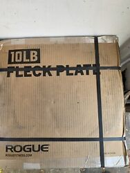 ✅Rogue Fitness Fleck Plates 10lb Pair 20lbs . Ships Fast $133.99
