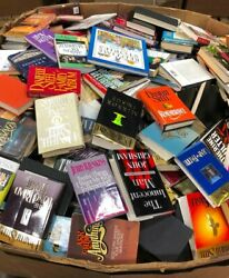 Paperback Lot Random Mix 10 lbs Books All Fiction Action Mystery Thriller etc. $17.99