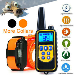 2600FT Dog Shock Training Collar with Remote Rechargeable Waterproof Pet Trainer $33.99