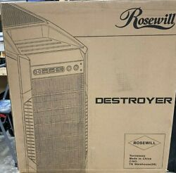 Rosewill DESTROYER Black Gaming ATX Mid Tower Computer Case $100.00