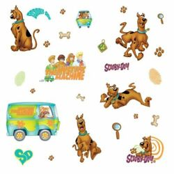 Scooby Doo RoomMates Vinyl Wall Bedroom 26 Removable Decal Stickers $13.99