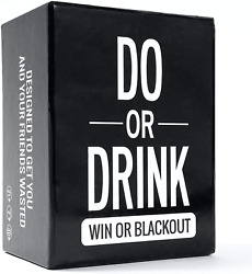 Do or Drink Party Card Game for College Camping 21st Birthday Parties amp; $38.94