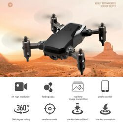 LF606 2.4G RC Drone Camera 4K WiFi FPV Quadcopter 716 Brushed Motor Gifts L6W3 $42.46
