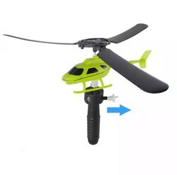 Educational Toy Helicopter Outdoor Toy Gift For Kids Children Helicopter Toys Pu $4.99