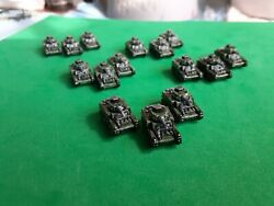Axis and Allies painted pieces US Stuart Lt Tank $6.50