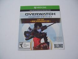 Noire Widowmaker Skin in Overwatch for Xbox One XB1 UN USED AND WORKING $59.99
