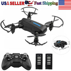 Mini FPV RC Drone Foldable Drone Quadcopter Altitude Hold Headless Mode for Kids $29.99
