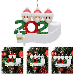 Personalized 2020 Merry Christmas Tree Ornament Hanging Family Home Decor Xmas $3.33