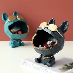 Resin Cool dog big mouth dog storage box home decoration art home décor gift $98.00
