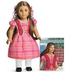 AmericanGirl MARIE GRACE DOLLextra dressBOOK Never removed from box retired $195.00