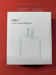 GENUINE APPLE 20w USB C Fast Charge Wall Charger For iPhone 12 11 Pro Max $14.88