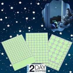3D Glowing Star Stickers 452Pcs Decals Sky Ceiling Wall Kids Room Nursery Bed $10.99