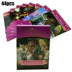 44pcs Romance Angel Oracle Tarot Cards Deck Kit Set Divination Game Toy Gifts $11.98