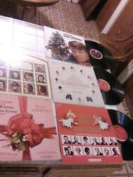 5 VARIETY HOLIDAY RECORDS CLASSICS 1.GLENN CAMPBELL AND MORE $55.00