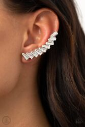 I Think ICE Can Ear Crawler Earrings Paparazzi $5.00