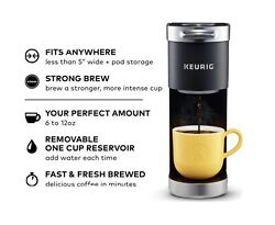 Keurig K Mini Plus Single Serve Coffee Maker Matte Black $68.99