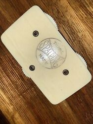 AWESOME Antique 1915#x27;s Spalding Baseball Celluloid Scoring Tablet Vintage RARE $165.00