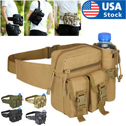 Outdoor Utility Tactical Waist Fanny Pack Pouch Military Camping Hiking Belt Bag $12.98