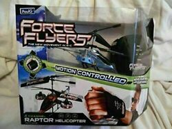 Glove Force Flyers 4 Channel Raptor Helicopter the New Movement in R c Color Blu $39.99