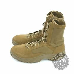 NEW Oakley 11194 86W Men#x27;s Field Assault Military Boots in Coyote 12 $90.99