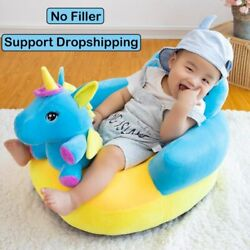 Baby Seats Sofa Support Cover Infant Learning To Sit Plush Chair Feeding Seat $20.02