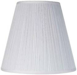 Brentwood Mushroom Pleated Shade 9x16x14.5 Spider $34.99