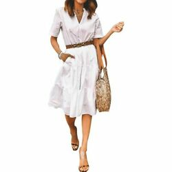 Long Party women#x27;s Dresses Dress Womens summer Casual Fashion Loose Cocktail P $21.33