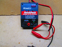 HOBBICO MODEL #HCAM3005 Quick Peak Charger For RC Systems $10.00
