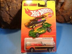HOT WHEELS THE HOT ONE 1965 FORD MUSTANG CONVERT. FACTOY SEALED PACK 5 108 5 $4.99
