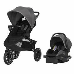 Evenflo 57312205 Folio3 Stroll and Jog Travel System with LiteMax 35 Infant Car $165.08