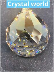 SET of 40 40mm Asfour HONEY Crystal Ball #701 Prisms Chandelier Crystal Parts $68.85