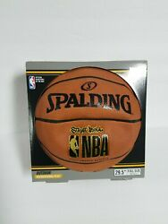 New Spalding NBA Street Basketball Official Size 7 29.5#x27;#x27; partially inflated $12.00