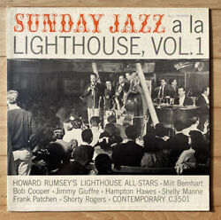 SUNDAY JAZZ a la LIGHTHOUSE Howard Rumsey Lighthouse All Stars Contemporary $15.95