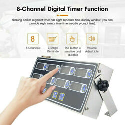 8 Channel Commercial Digital Timer Calculagraph Kitchen Loud Countdown Clock