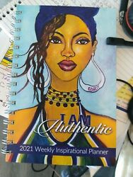 I Am Authentic 2021 Weekly Inspirational Planner $17.99