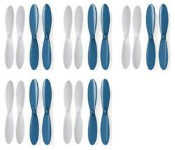 Protocol SlipStream Blue White Propeller Blades Props Propellers 5 Pack $6.95