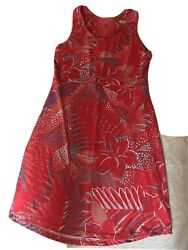 Sport Beach Dress Columbia M Red Coral Nwot $13.00