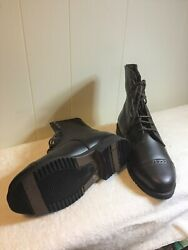 NEW Kids Lined Paddock Boots Brown Size 1 $25.99