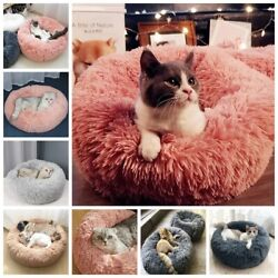 Cat Bed Round Cat Beds for Large Cats Cat Bed Small Pet Beds for Small Dogs $18.91