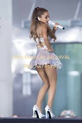 ARIANA GRANDE Up Skirt Little White Panties Hi Res Pro Archival Photo 8.5x11 $19.75
