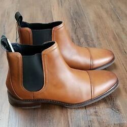 Cole Haan Mens Conway Leather Pull on Chelsea Boot $199.00