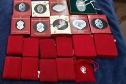 Waterford Crystal 12 Days of Christmas Ornaments Set of 20 pc $245.00