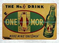 wall to wall decorating 1939 1945 One 1 Mor Soda metal tin sign $15.95