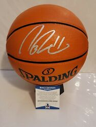 Nate Robinson Signed Spalding Game Ball Series Basketball Beckett W COA $139.99
