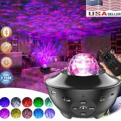 Bluetooth LED Galaxy Starry Night Light Projector Ocean Star Sky Party Lamp Gift $29.99