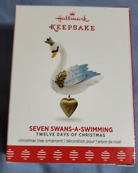 Hallmark 2017 Seven Swans a Swimming 12 Days of Christmas Series $82.99
