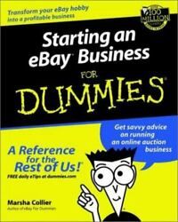 NEW STARTING AN EBAY BUSINESS FOR DUMMIES BY MARSHA COLLIER 2001 PAPERBACK $7.88